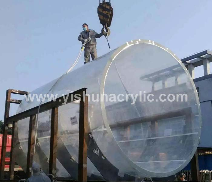 100mm thick clear plexiglass acrylic glass - Guangdong