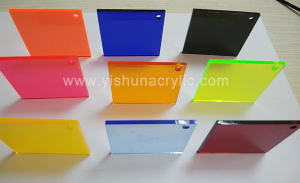 colored acrylic sheet